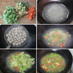 肉丸胡辣汤怎么做