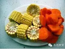 榴莲皮玉米老鸭汤