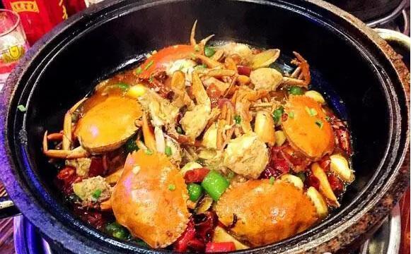 烤鱼爱上石锅虾 鸣记烤鱼棒棒哒